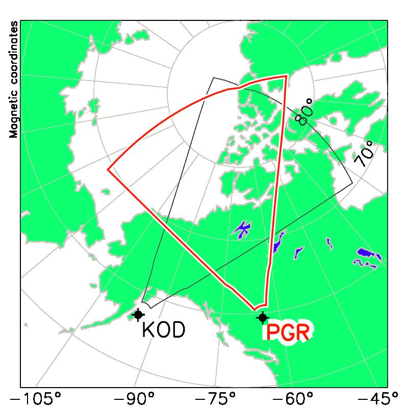 Prince George Canada Map.Prince George Info Virginia Tech Superdarn