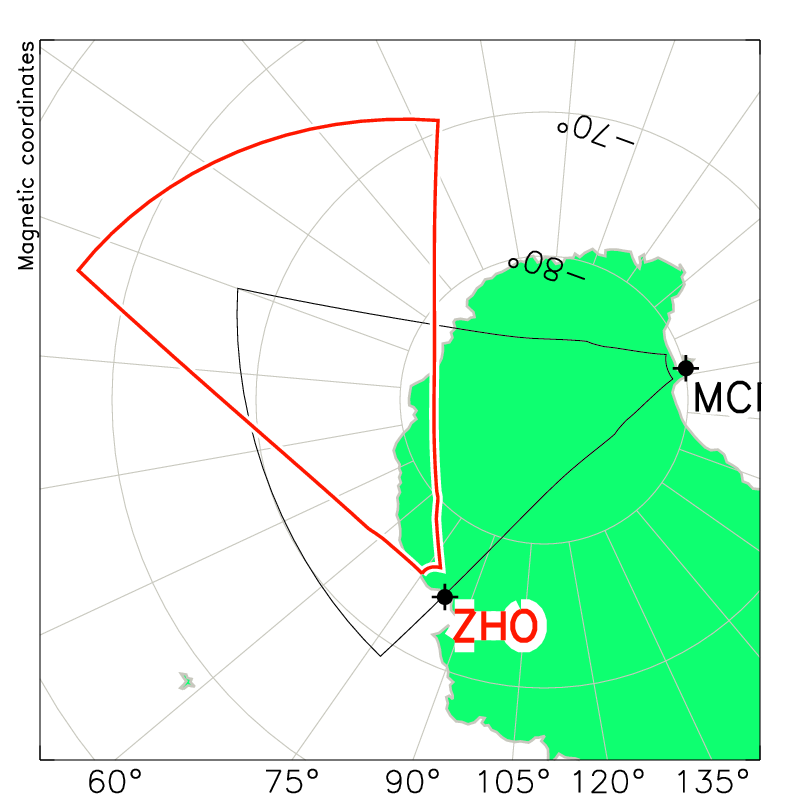 Zhongshan Radar Field of View Map
